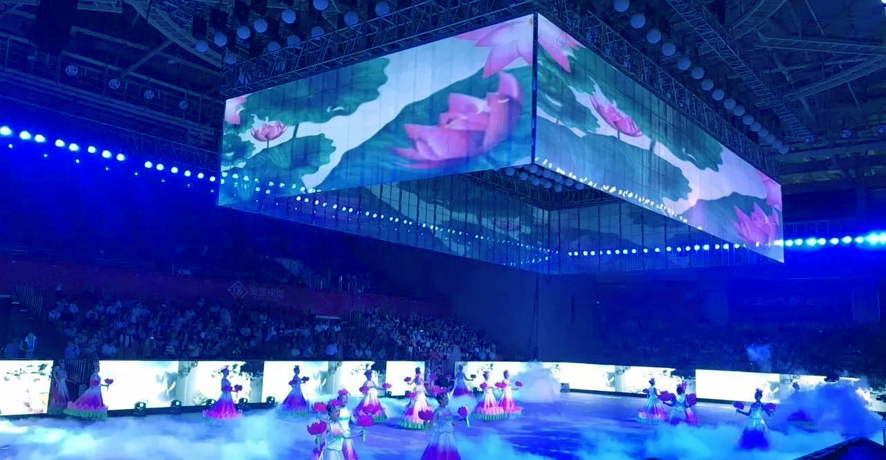 LED stage transparent screen
