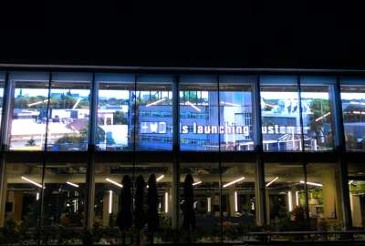 K&G VISUAL led transparent screen is unveiled in Holland science park