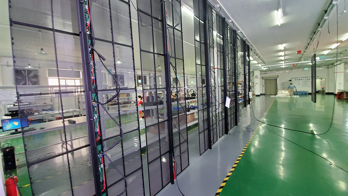 Led transparent screen manufacturer which good? How much is the led transparent screen?