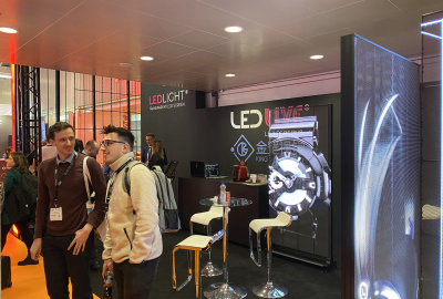 K&G VISUAL LED transparent screen solution lineup, amazing Holland 2020ISE exhibition